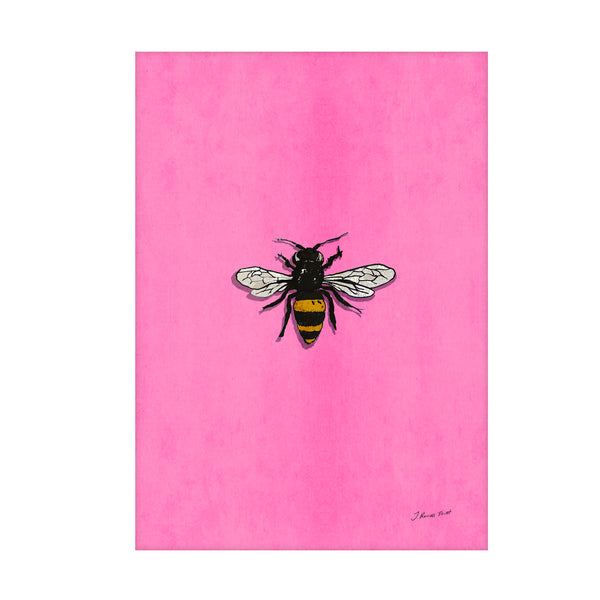"Signed Print / ""The Bee"""