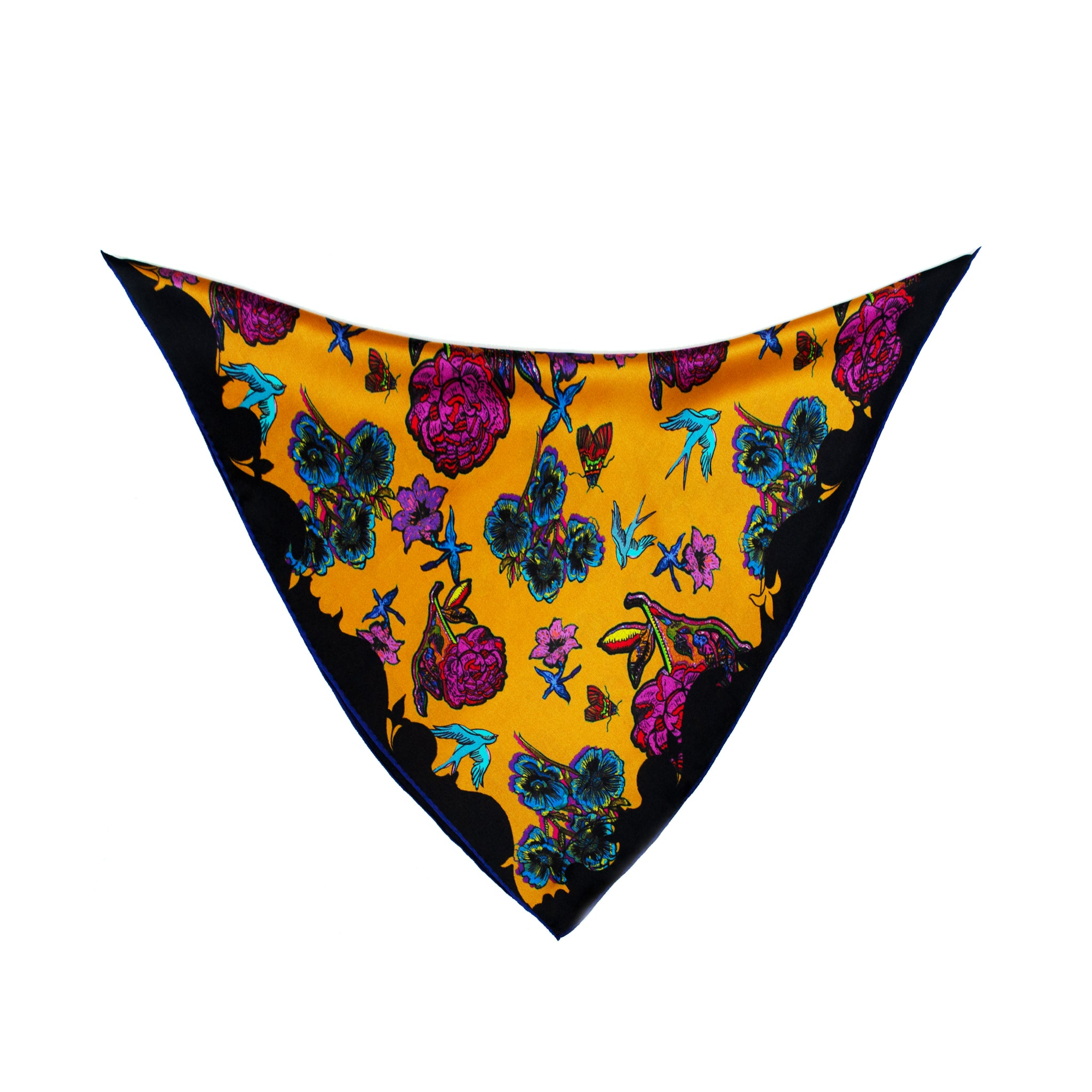 Silk Neck Tie / ''Botanical Garden''