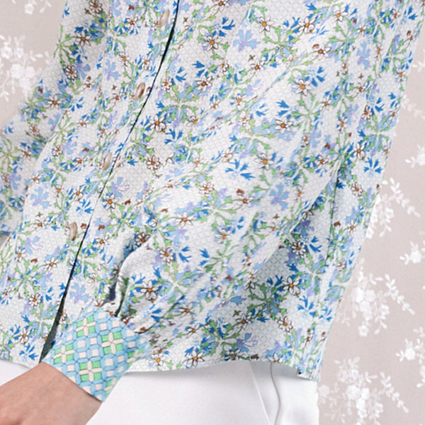 "Button Down Blouse / ""Daisy Chains"""