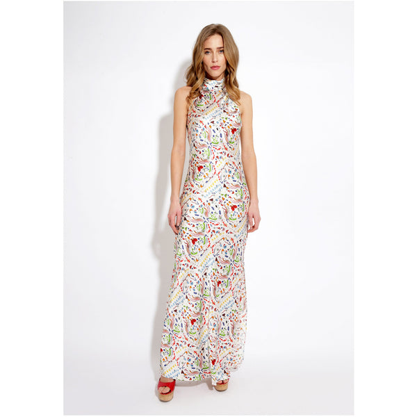 High Neck Maxi Dress / ''Indiana''