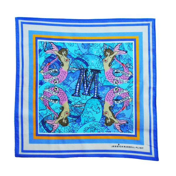 "Handkerchief/ ""M for Mermaids"""