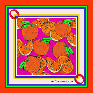 "Design Print / ""O for ORANGES"""