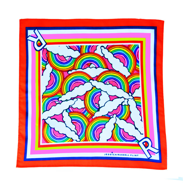 "Handkerchief/ ""R for Rainbow"""