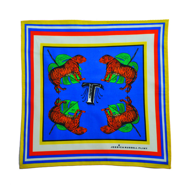 "Handkerchief/ ""T for Tigers"""