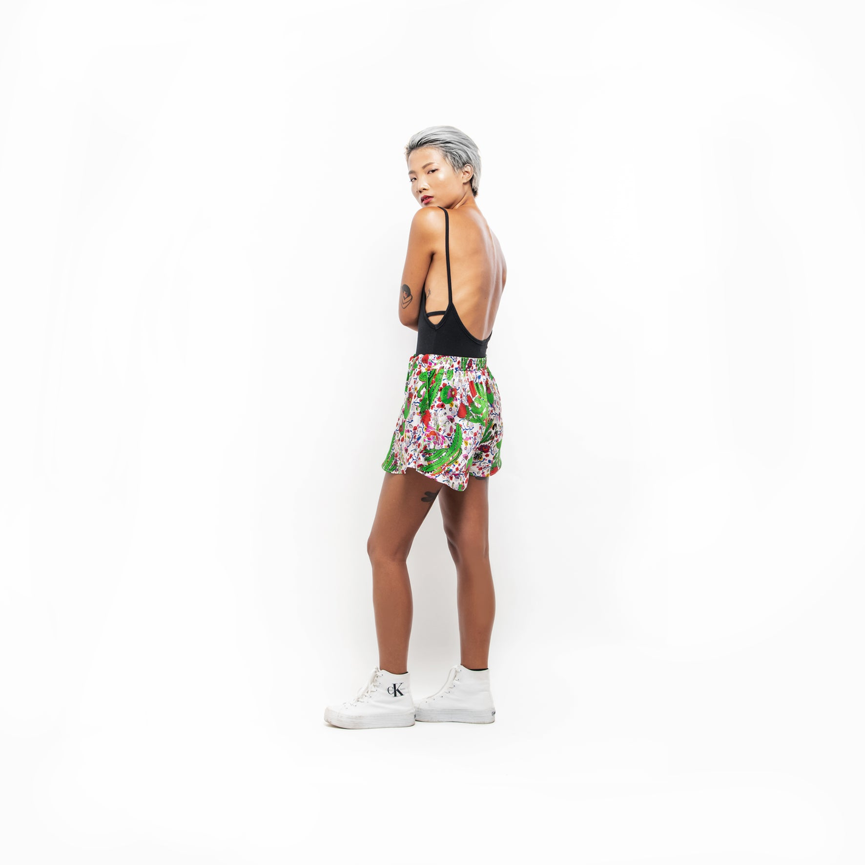 Silk Shorts / ''Cactus and Doodle''