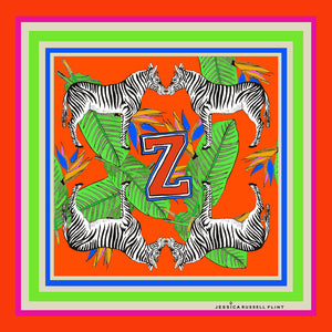 "Design Print / ""Z for Zebra"""
