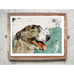 "Signed Print / ""The English Bull Terrier"""