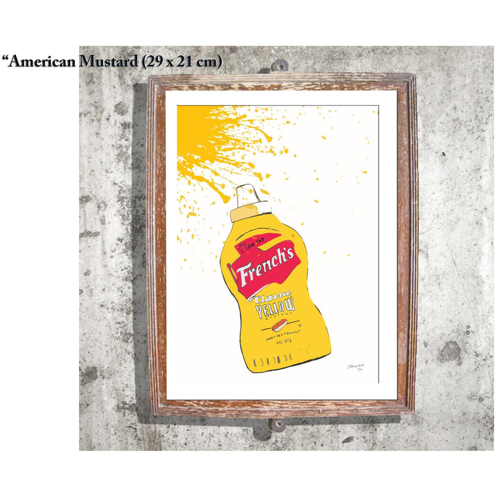 "Limited Edition Print / ""The American Mustard"""
