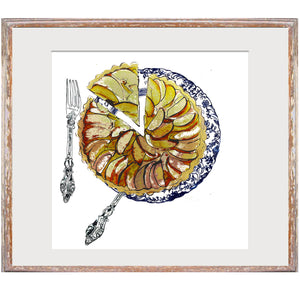 "Signed Print / ""The Apple Tart"""
