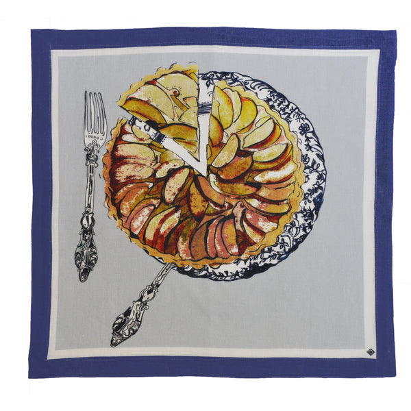 "Linen Table Napkins / ""Apple Tart"""