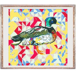 "Signed Print / ""The Aztec Duck"""