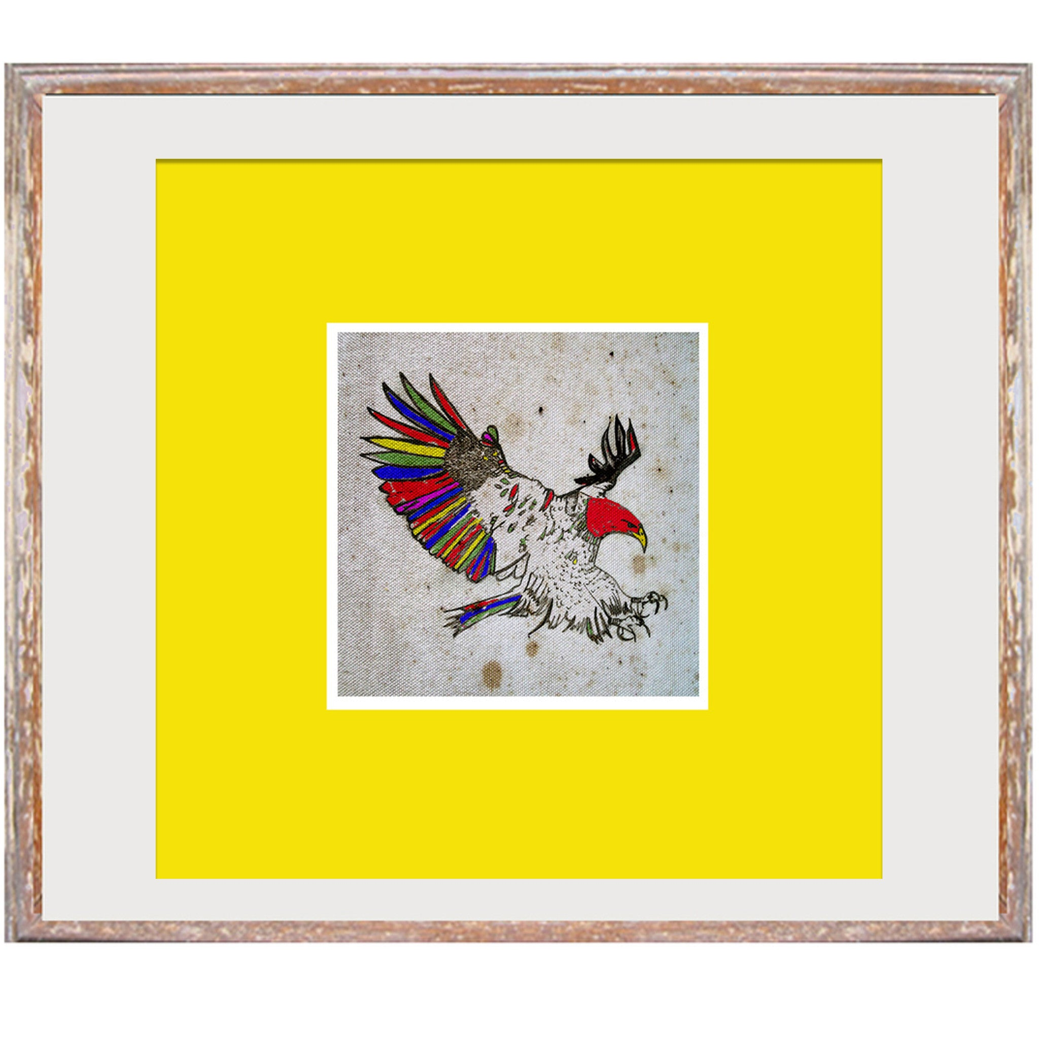 "Signed Print / ""The Aztec Eagle"""