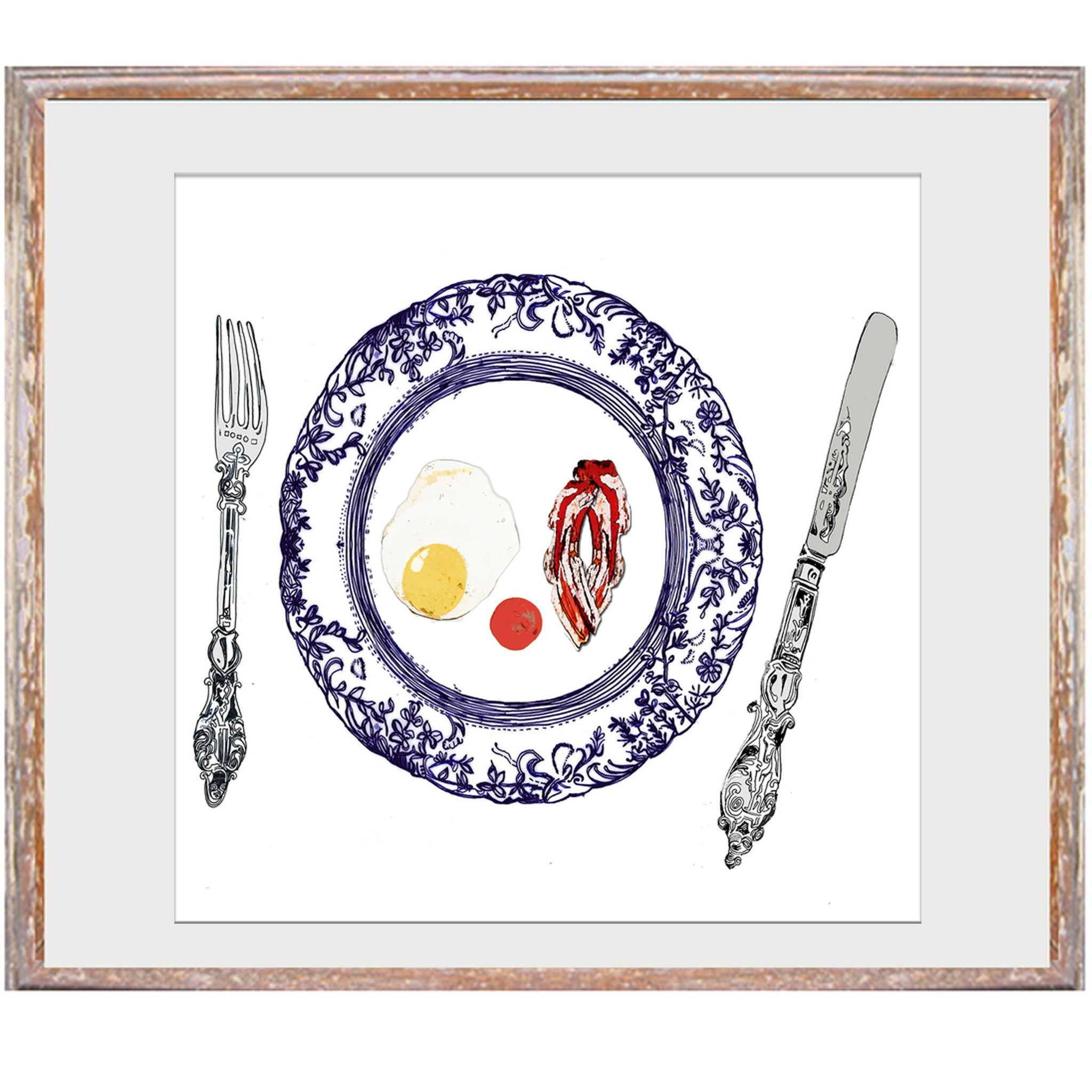 "Signed Print / ""The English Breakfast"""