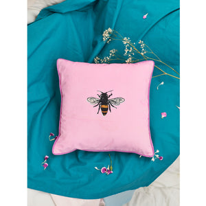 Velvet Cushion Cover / ''The Bee""