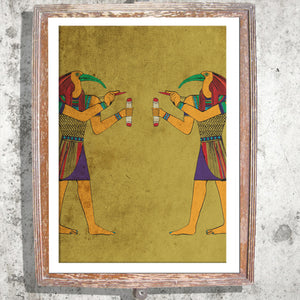 "Signed Print / ""Walk Like An Egyptian"""