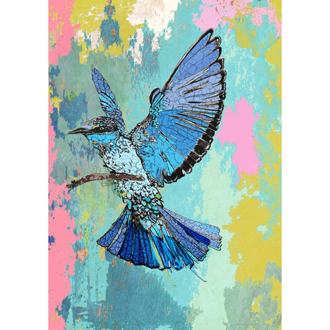 "Signed Print / ""The Bluebird"""