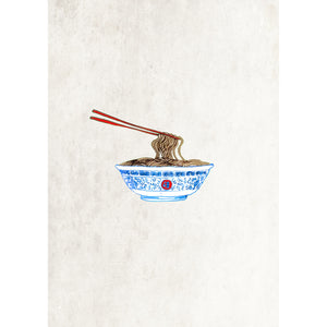 "Limited Edition Print / ""The Noodles"""