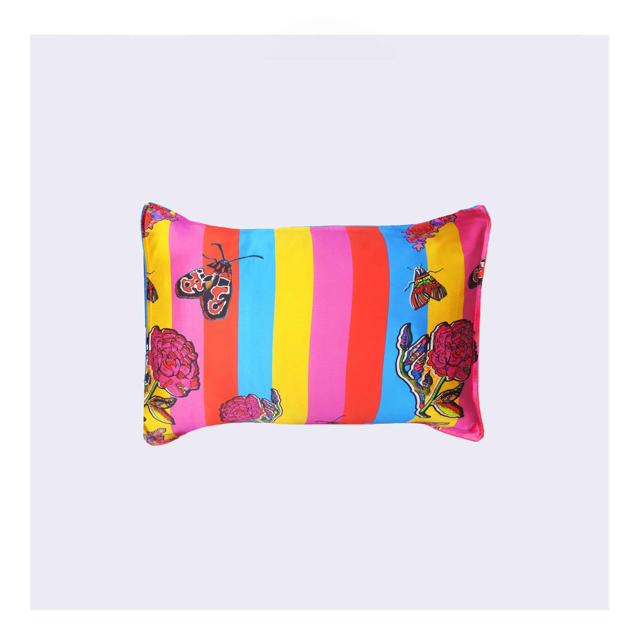 "Silk Pillowcase/""Circus Stripe"""