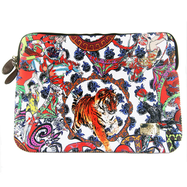 "Laptop Case / ""The Crazy Circus"""