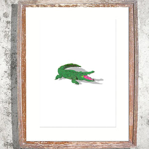 "Signed Print / ""The Crocodile"""