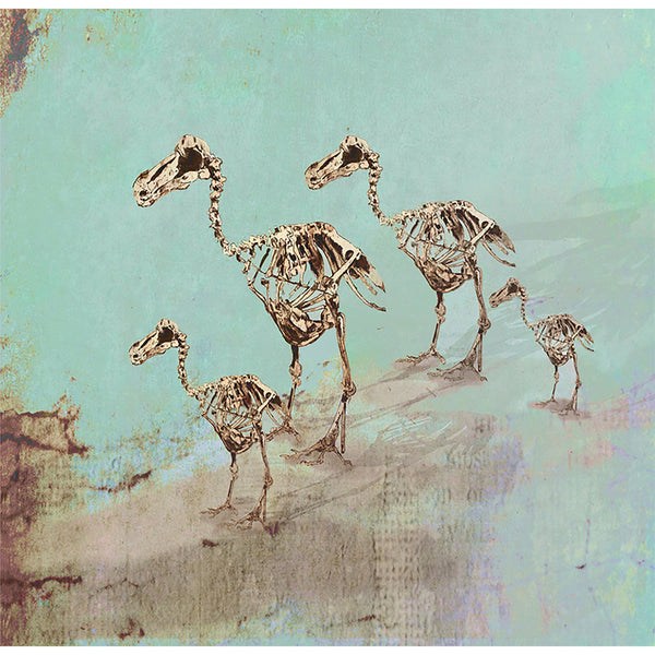 "Limited Edition Print / ""The Dead Dodo Family"""