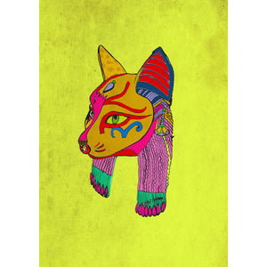 "Limited Edition Print / ""The Cat Head"""