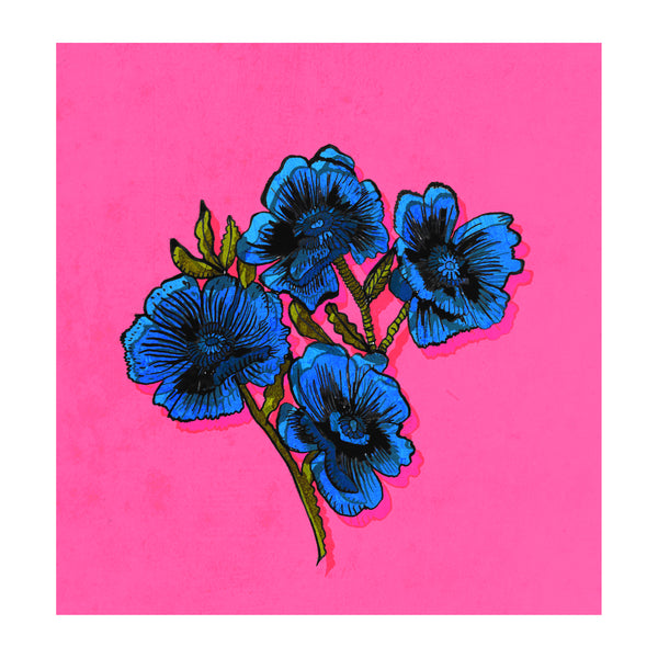 "Signed Print / ""Sexy Flowers"""
