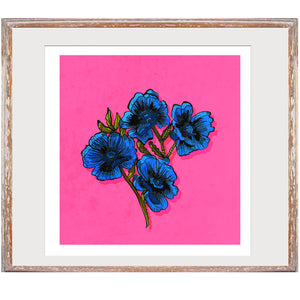 "Limited Edition Print / ""Sexy Flowers"""