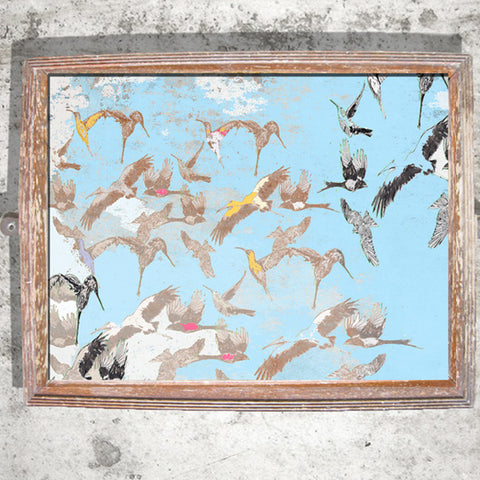 "Signed Print / ""The Crashing Birds in the Sky"""