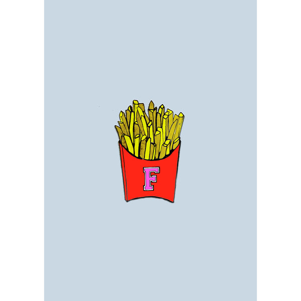 "Signed Print / ""French Fries"""