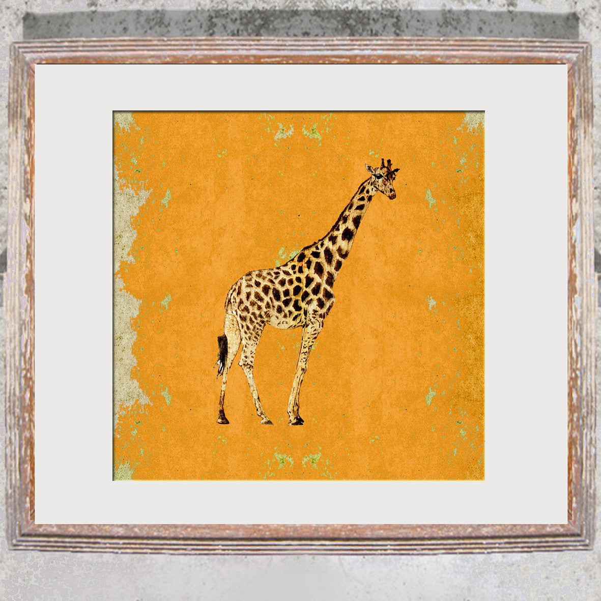 "Signed Print / ""The Giraffe"""