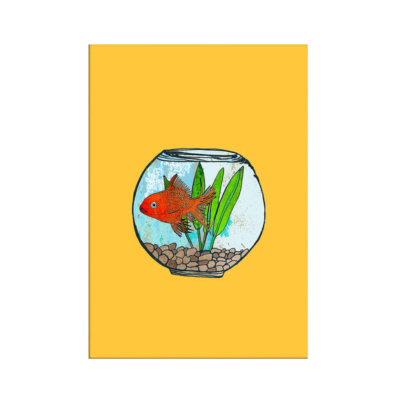 "Limited Edition Print/""The Gold Fish Bowl"""