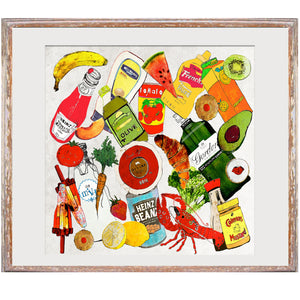 "Limited Edition Print / ""The Groceries"""