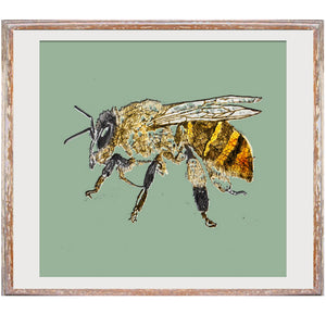 "Signed Print / ""The Honey Bee"""