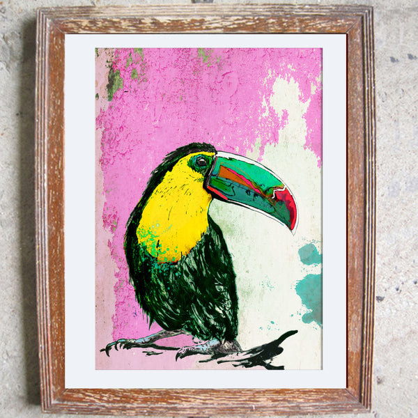 "Signed Print / ""The Jungle Bird"""