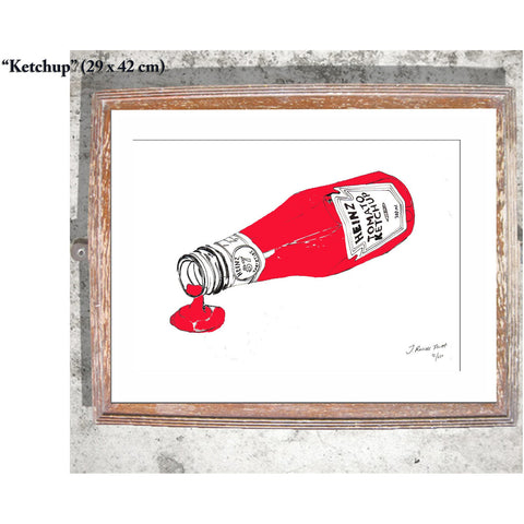 "Signed Print / ""The Ketchup"""