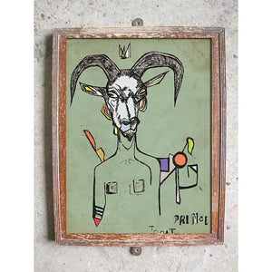 "Limited Edition Print / ""The King Goat"""