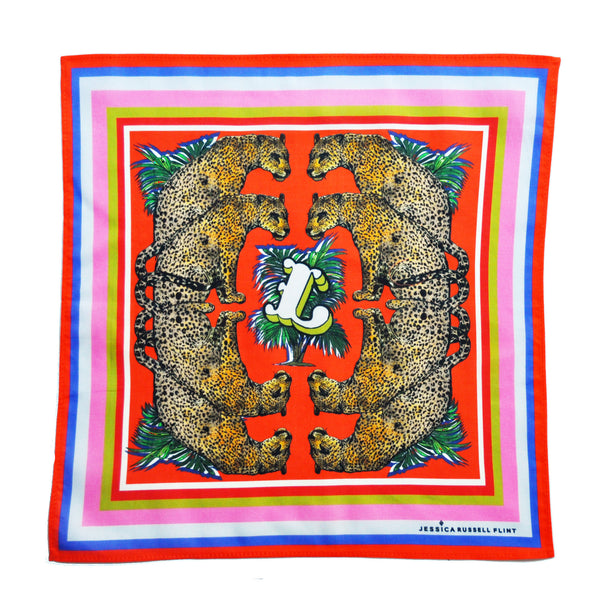 "Handkerchief/ ""L for Leopards"