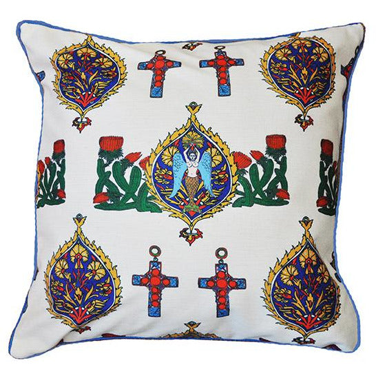 "Cushion Cover/ ""The Lady Margharita"""