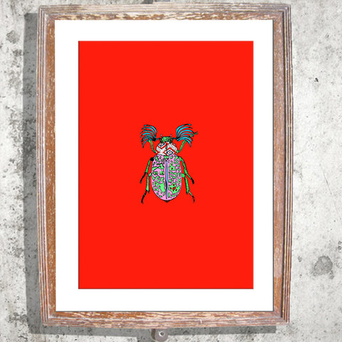 "Signed Print / ""The Love Bug"""