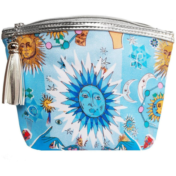 Classic Make Up Bag / ''Magic Skies""