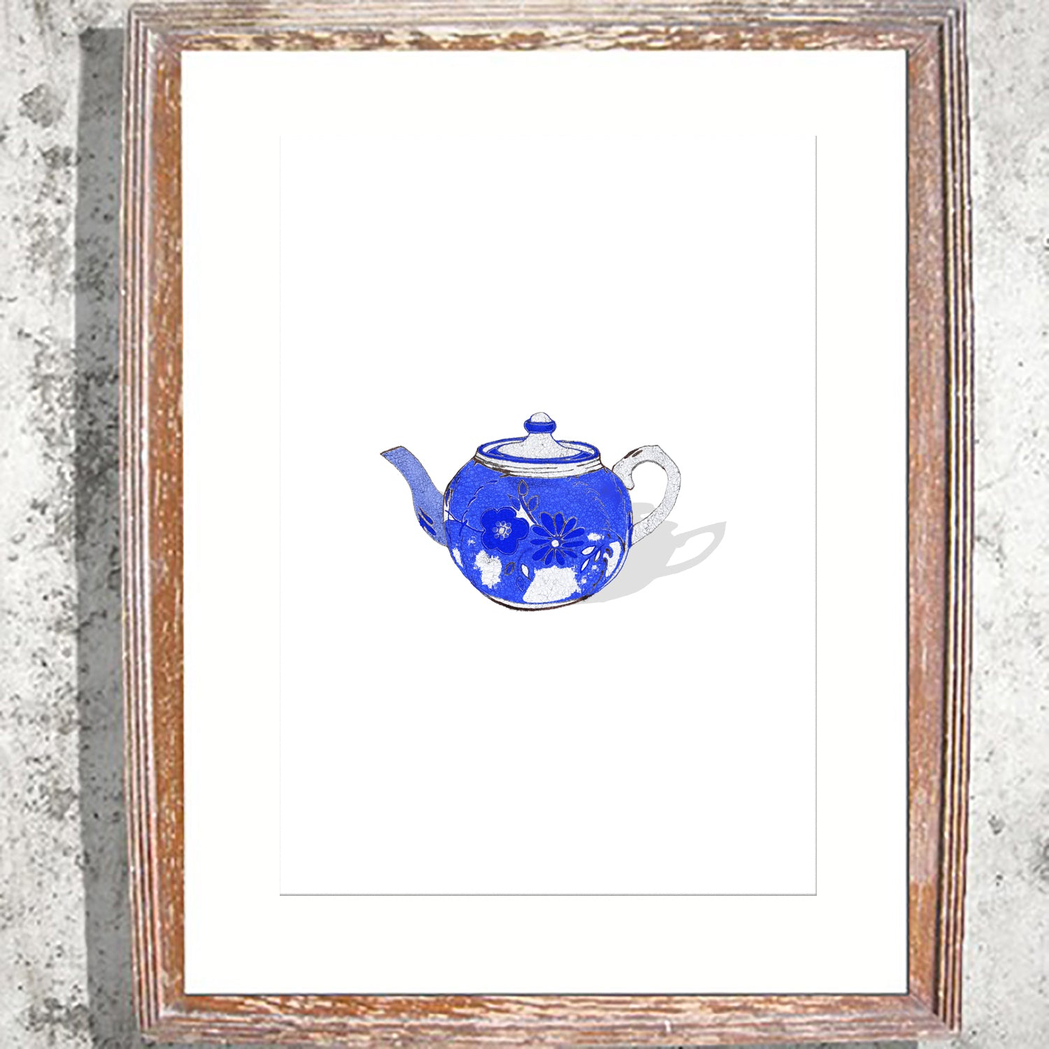 "Signed Print / ""Mama's Teapot"""