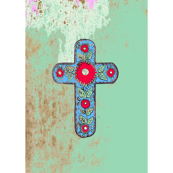 "Signed Print / ""The Mexican Cross"""