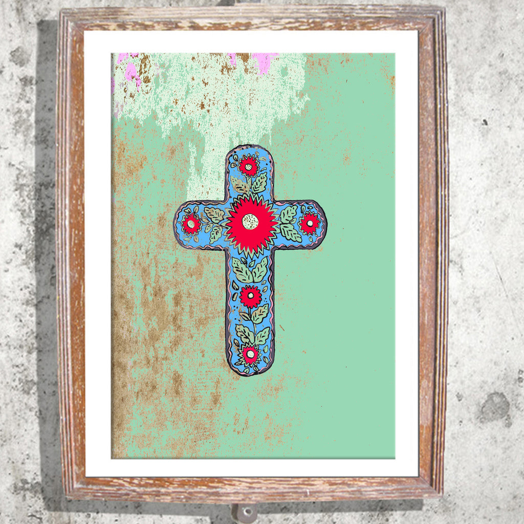 "Limited Edition Print / ""The Mexican Cross"""