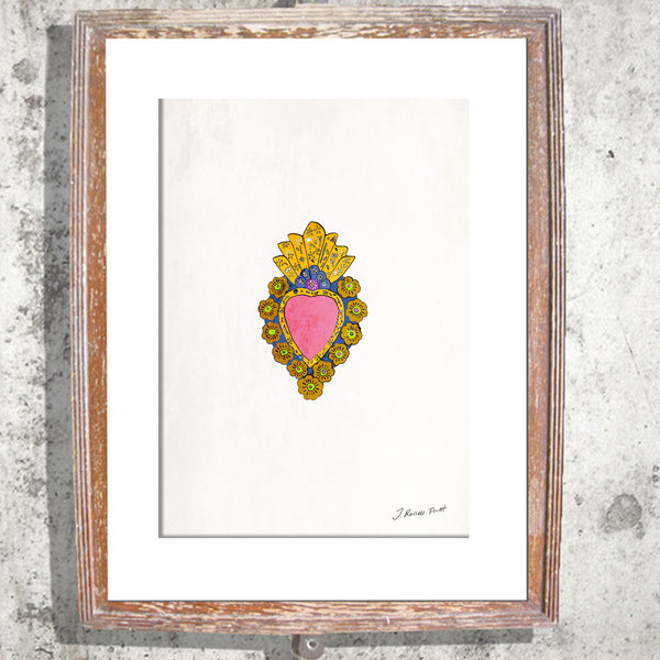 "Signed Print / ""The Mexican Heart"""