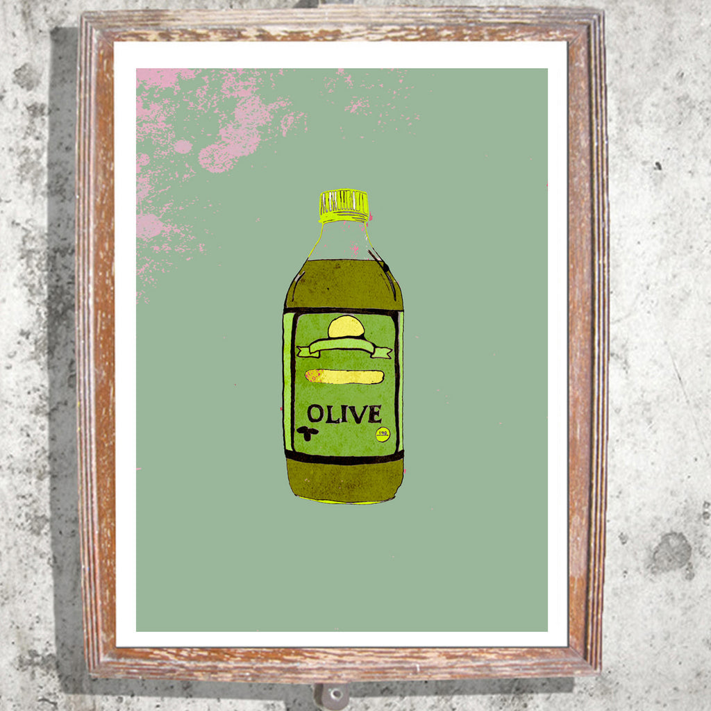 "Limited Edition Print / ""The Olive Oil"""