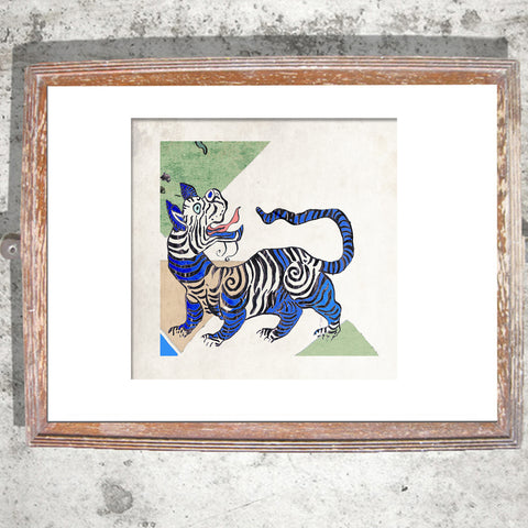 "Signed Print / ""The Oriental Tiger"""