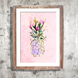 "Signed Print / ""The Pineapple Cliche"""