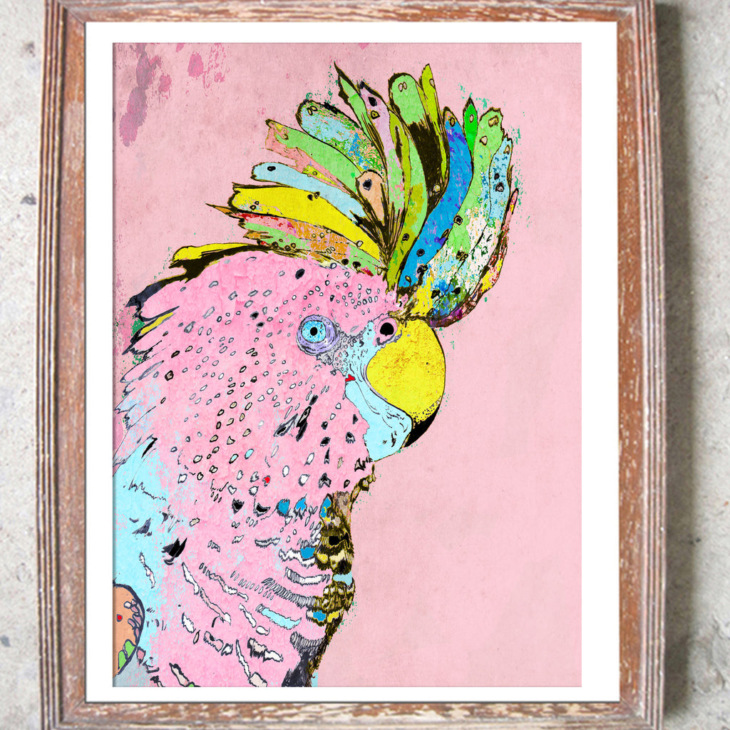 "Limited Edition Print / ""The Punky Parrot"""