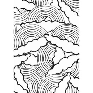 "Free Colouring In Print/ ""Rainbows of Hope"""